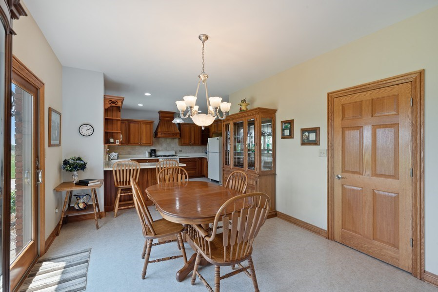 Real Estate Photography - 2029 W. Church Road, Beecher, IL, 60401 - Kitchen / Breakfast Room