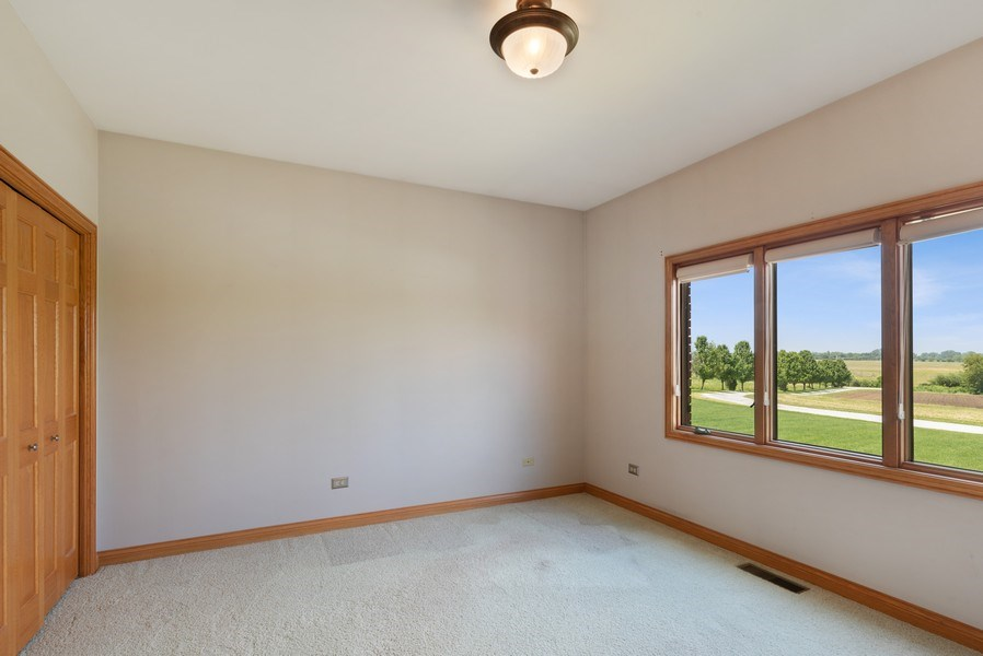 Real Estate Photography - 2029 W. Church Road, Beecher, IL, 60401 - Guest Room