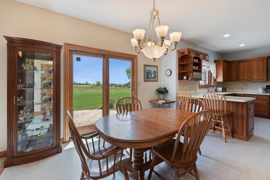 Real Estate Photography - 2029 W. Church Road, Beecher, IL, 60401 - Breakfast Area