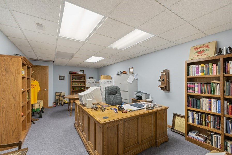 Real Estate Photography - 2029 W. Church Road, Beecher, IL, 60401 - Office