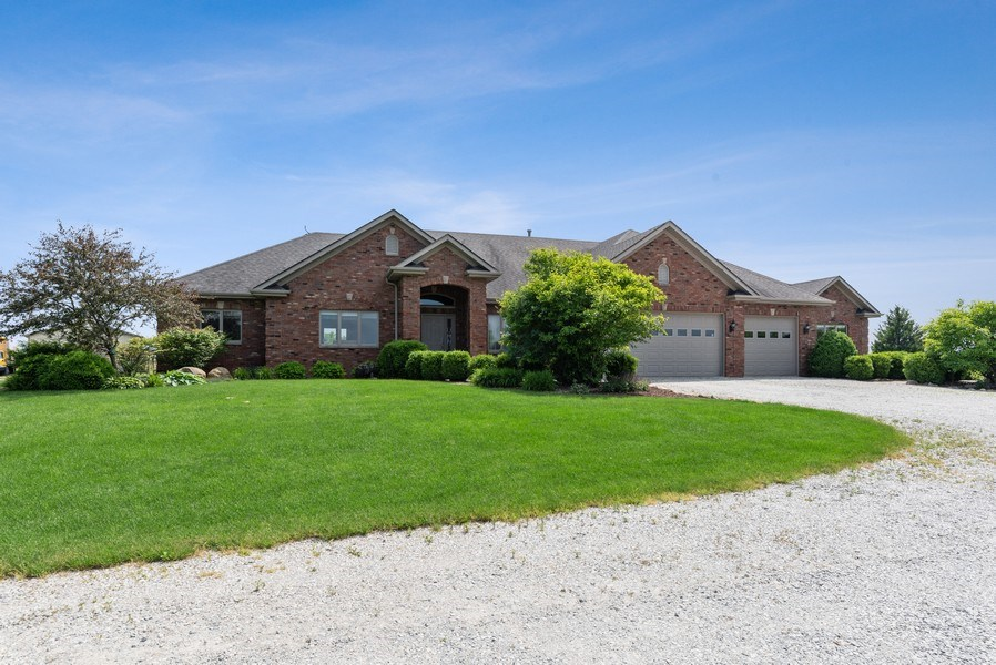 Real Estate Photography - 2029 W. Church Road, Beecher, IL, 60401 - Front View
