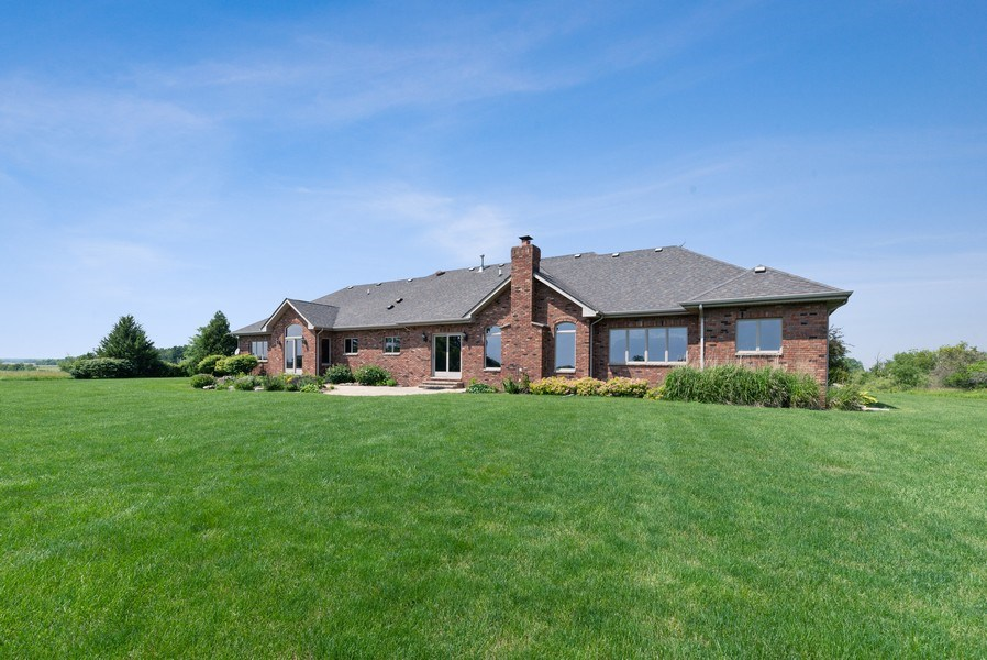 Real Estate Photography - 2029 W. Church Road, Beecher, IL, 60401 - Rear View