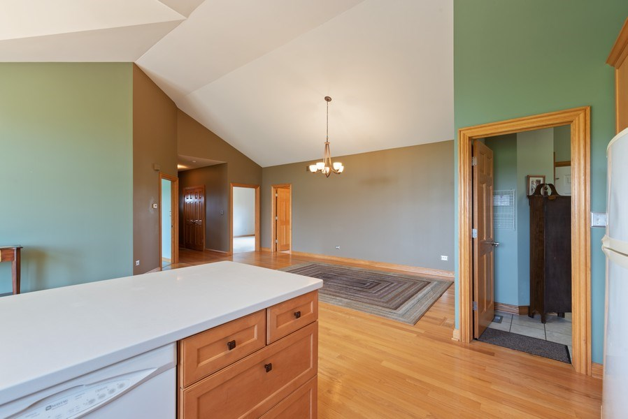 Real Estate Photography - 2029 W. Church Road, Beecher, IL, 60401 - Kitchen / Dining Room