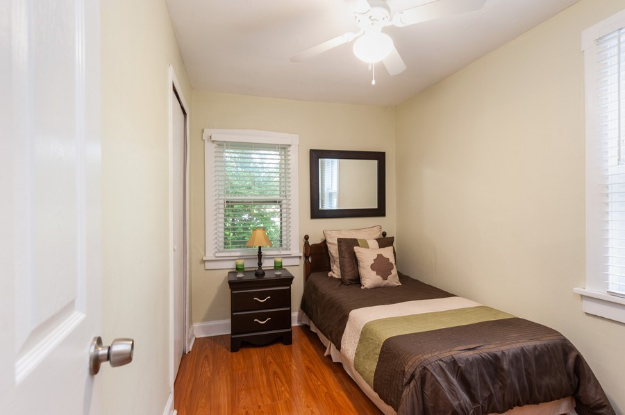 Real Estate Photography - 313 Lake St, Waukegan, IL, 60085 - 2nd Bedroom