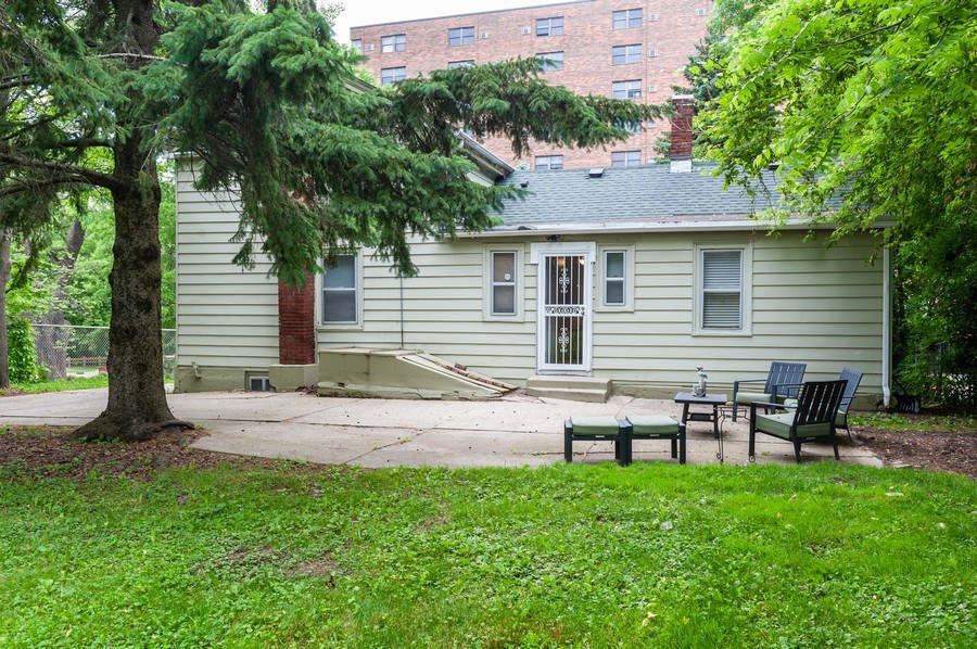 Real Estate Photography - 313 Lake St, Waukegan, IL, 60085 - Rear View