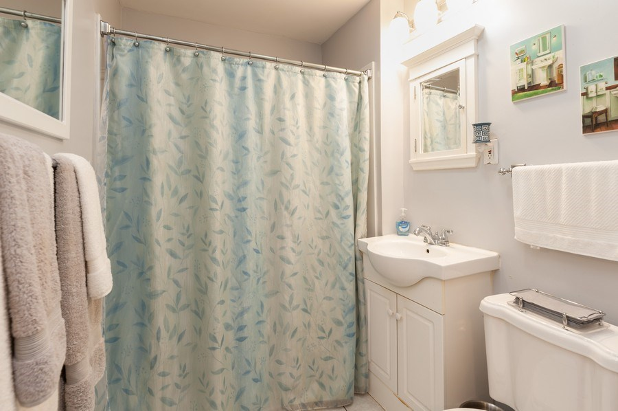 Real Estate Photography - 313 Lake St, Waukegan, IL, 60085 - Bathroom