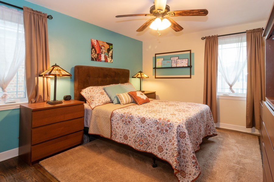 Real Estate Photography - 1808 Maple Avenue, Berwyn, IL, 60402 - Master Bedroom