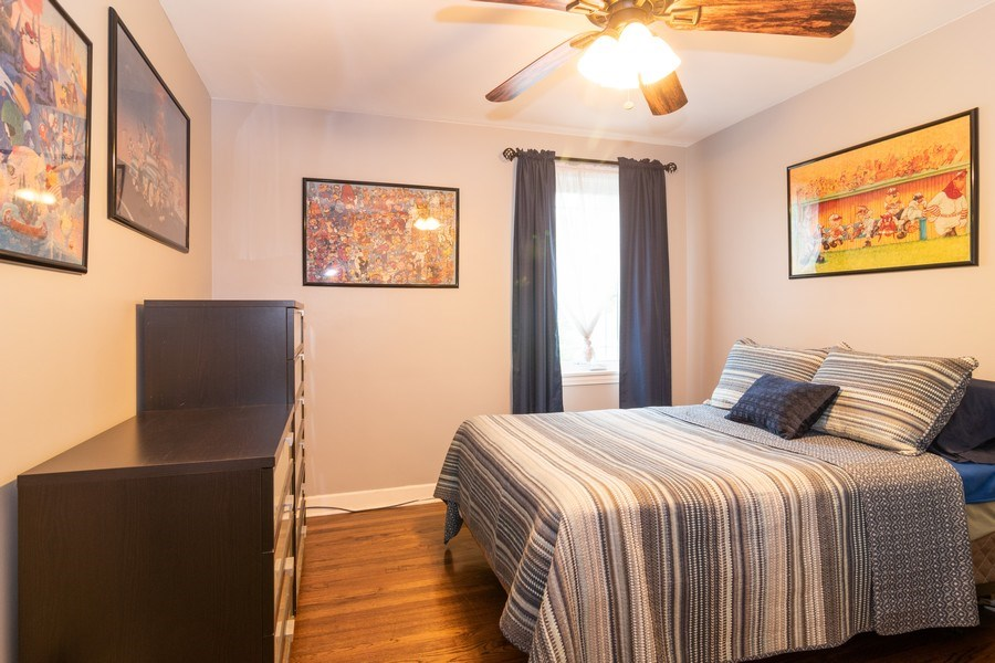 Real Estate Photography - 1808 Maple Avenue, Berwyn, IL, 60402 - 2nd Bedroom