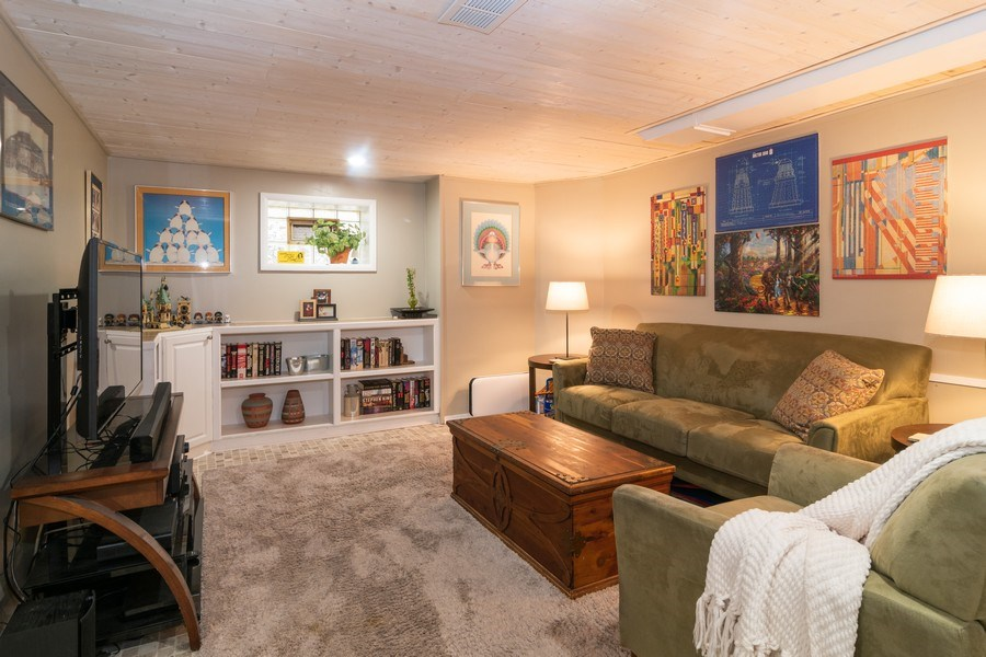 Real Estate Photography - 1808 Maple Avenue, Berwyn, IL, 60402 - Family Room