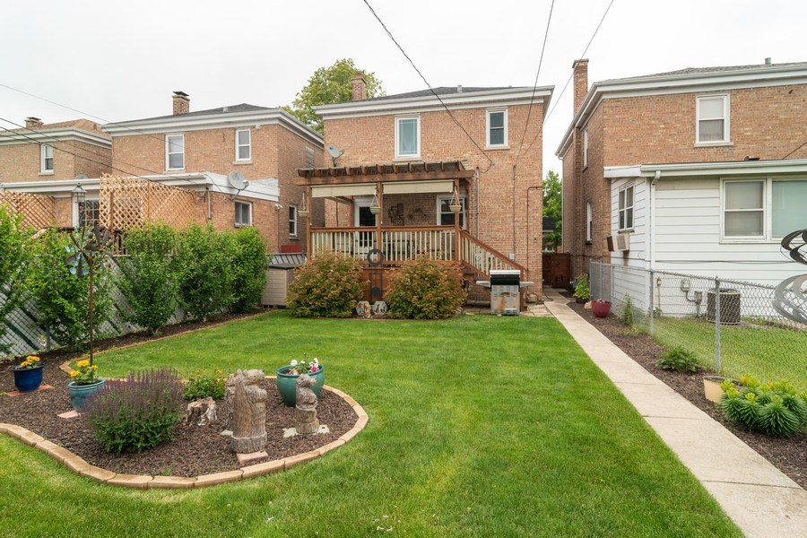 Real Estate Photography - 1808 Maple Avenue, Berwyn, IL, 60402 - Rear View