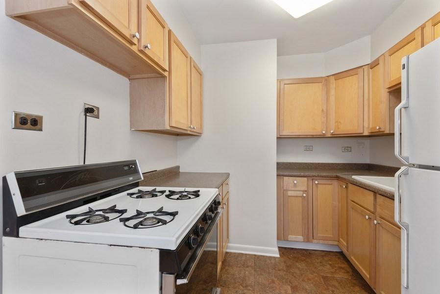 Real Estate Photography - 2424 W. Estes Uit 2G, Chicago, IL, 60645 - Kitchen