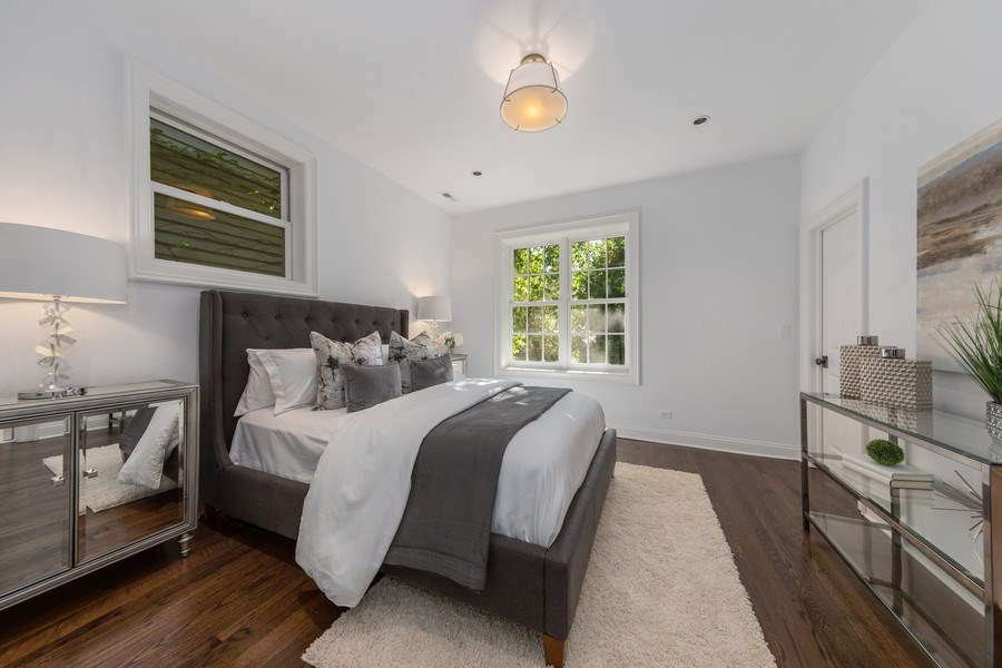 Real Estate Photography - 1708 N Sedgwick, Chicago, IL, 60614 - Master Bedroom
