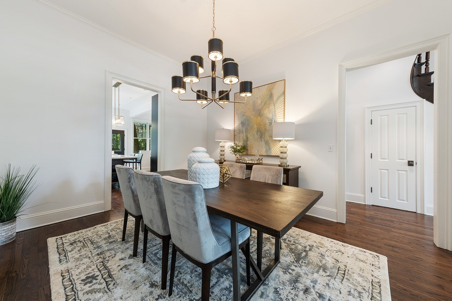 Real Estate Photography - 1708 N Sedgwick, Chicago, IL, 60614 - Dining Room
