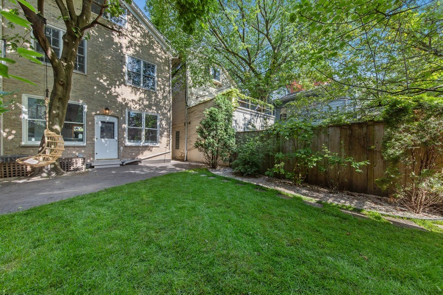 Real Estate Photography - 1708 N Sedgwick, Chicago, IL, 60614 - Back Yard