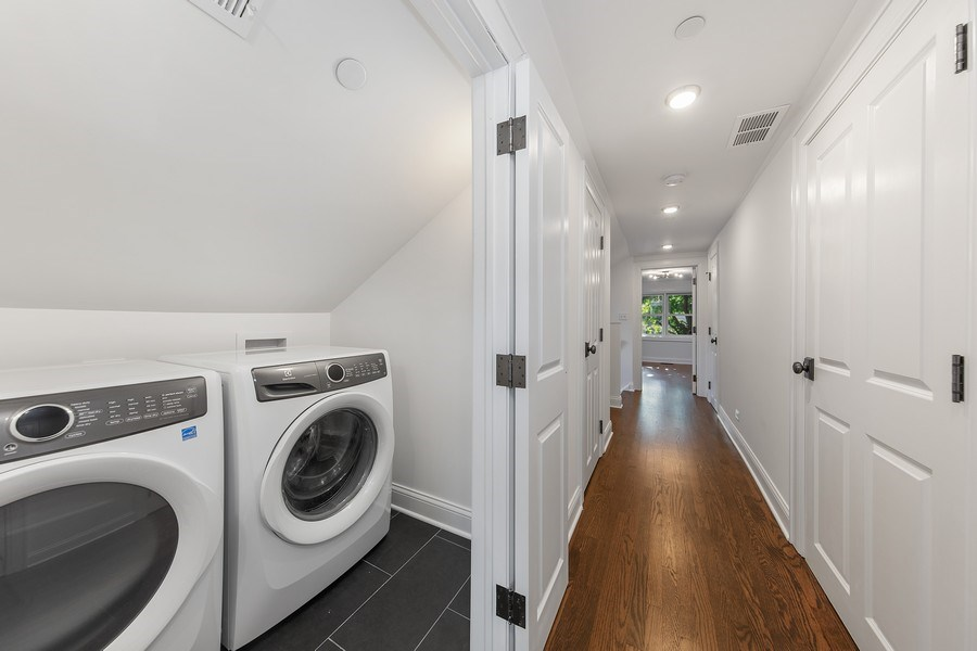 Real Estate Photography - 1708 N Sedgwick, Chicago, IL, 60614 - Laundry Room