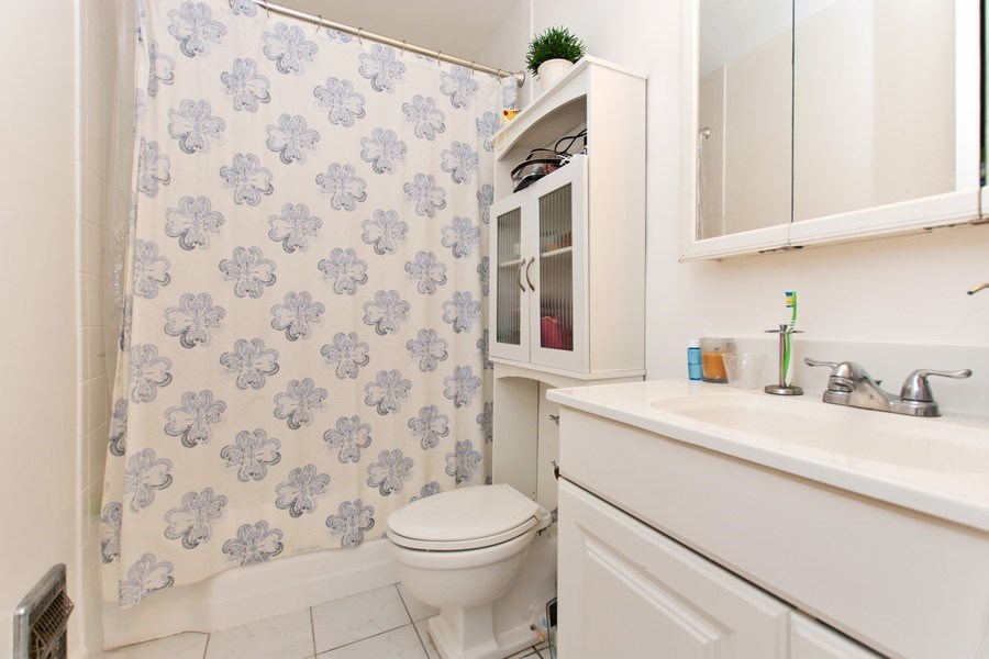 Real Estate Photography - 535 N Michigan Avenue, 510, Chicago, IL, 60611 - Master Bathroom