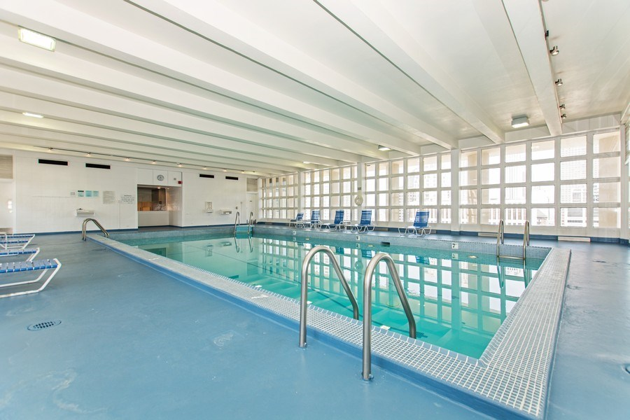 Real Estate Photography - 535 N Michigan Avenue, 510, Chicago, IL, 60611 - Pool