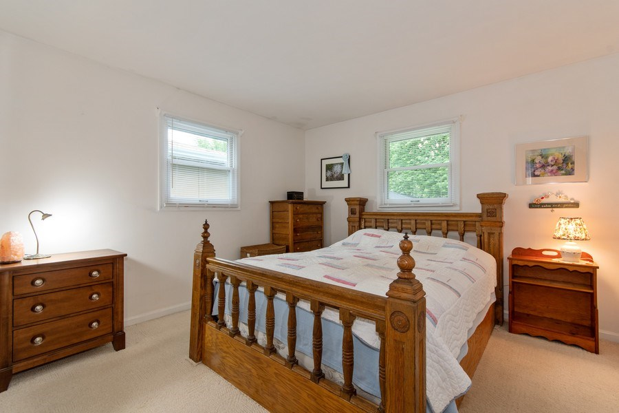 Real Estate Photography - 0N053 EVANS, WHEATON, IL, 60187 - Master Bedroom