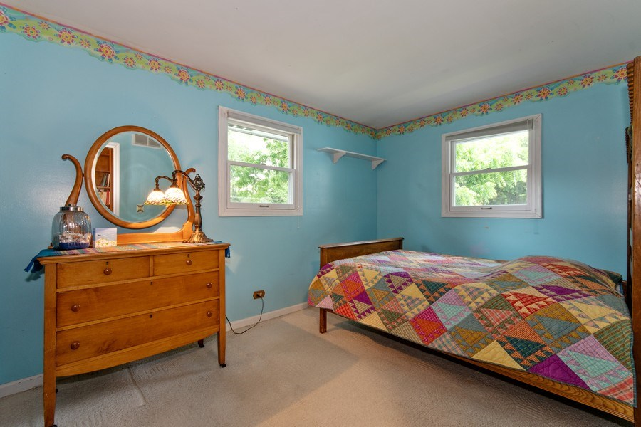 Real Estate Photography - 0N053 EVANS, WHEATON, IL, 60187 - 2nd Bedroom