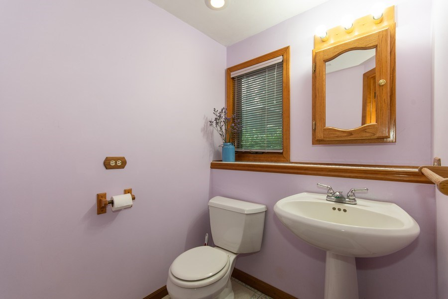 Real Estate Photography - 0N053 EVANS, WHEATON, IL, 60187 - Half Bath