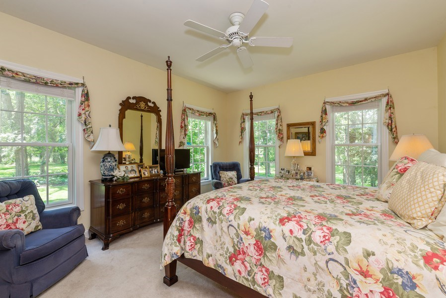 Real Estate Photography - 1953 Ole Hickory Road, Amboy, IL, 61310 - Master Bedroom