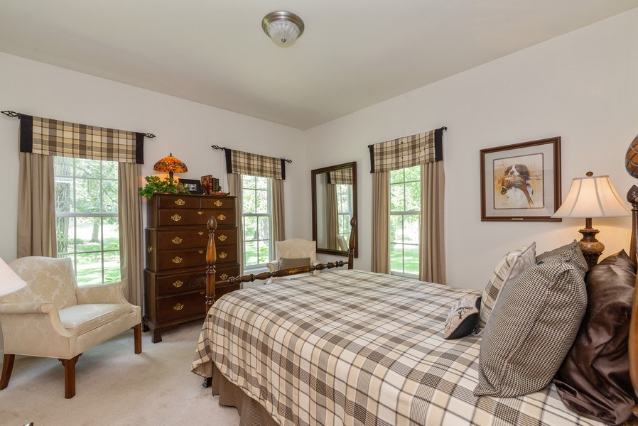 Real Estate Photography - 1953 Ole Hickory Road, Amboy, IL, 61310 - 2nd Bedroom
