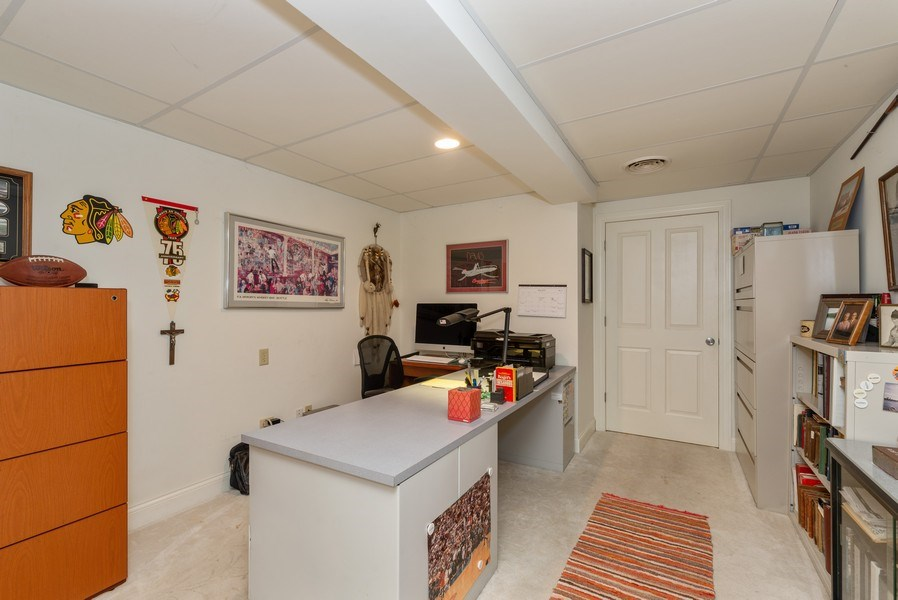 Real Estate Photography - 1953 Ole Hickory Road, Amboy, IL, 61310 - Basement with additional entrance from garage