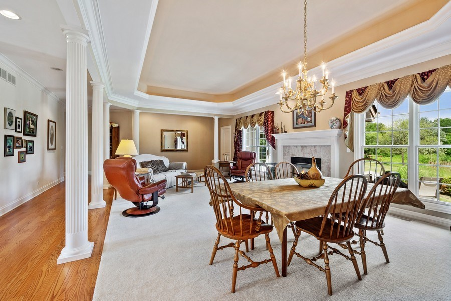 Real Estate Photography - 104 Cherry Hill, N Barrington, IL, 60010 - Living Room