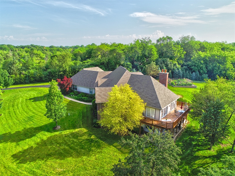 Real Estate Photography - 104 Cherry Hill, N Barrington, IL, 60010 - Aerial View