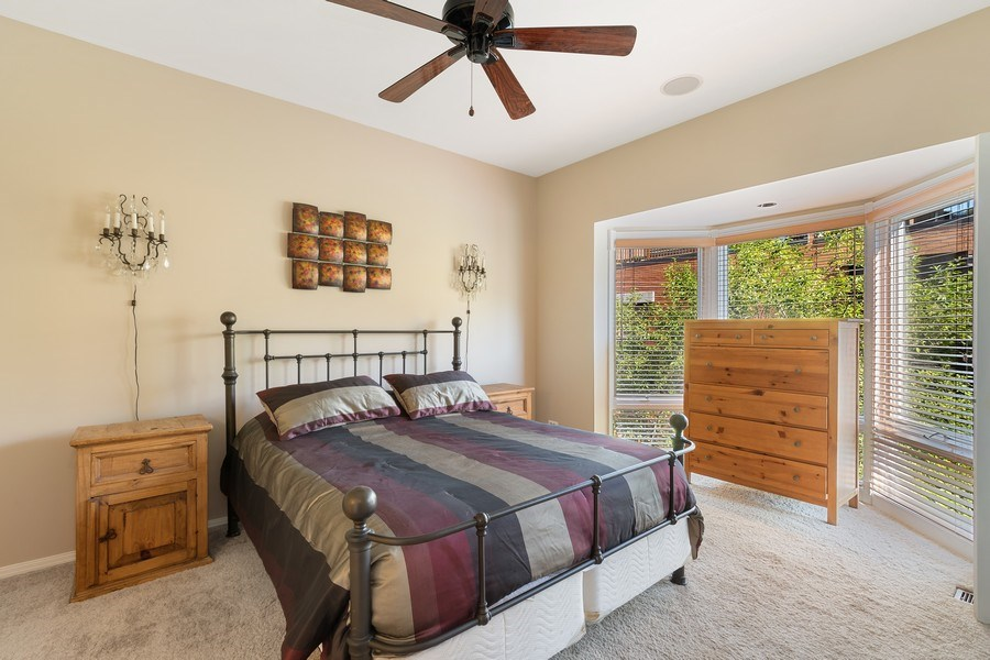 Real Estate Photography - 1445 N Cleveland Ave, Unit B, Chicago, IL, 60610 - Master Bedroom