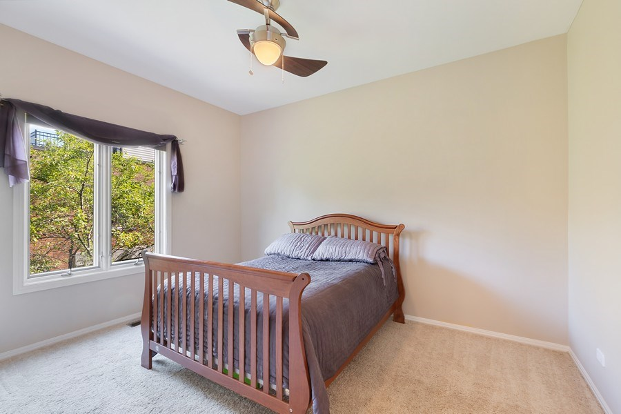 Real Estate Photography - 1445 N Cleveland Ave, Unit B, Chicago, IL, 60610 - Bedroom