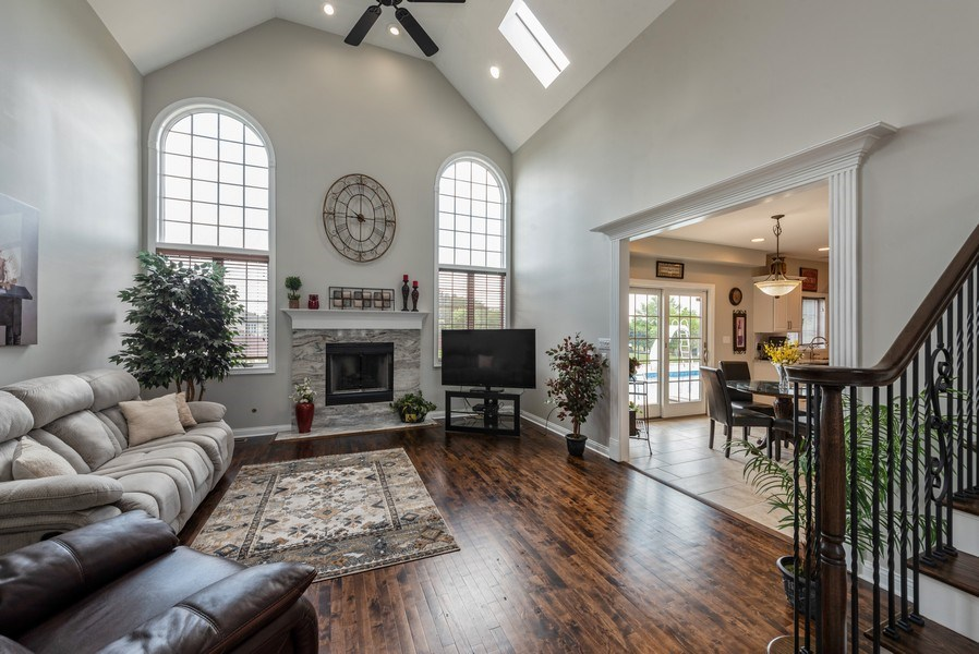 Real Estate Photography - 11068 Oregon Lane, crown point, IN, 46307 - Living Room
