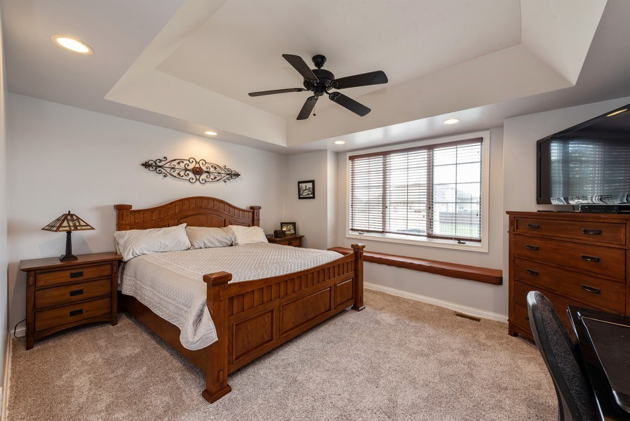 Real Estate Photography - 11068 Oregon Lane, crown point, IN, 46307 - Master Bedroom