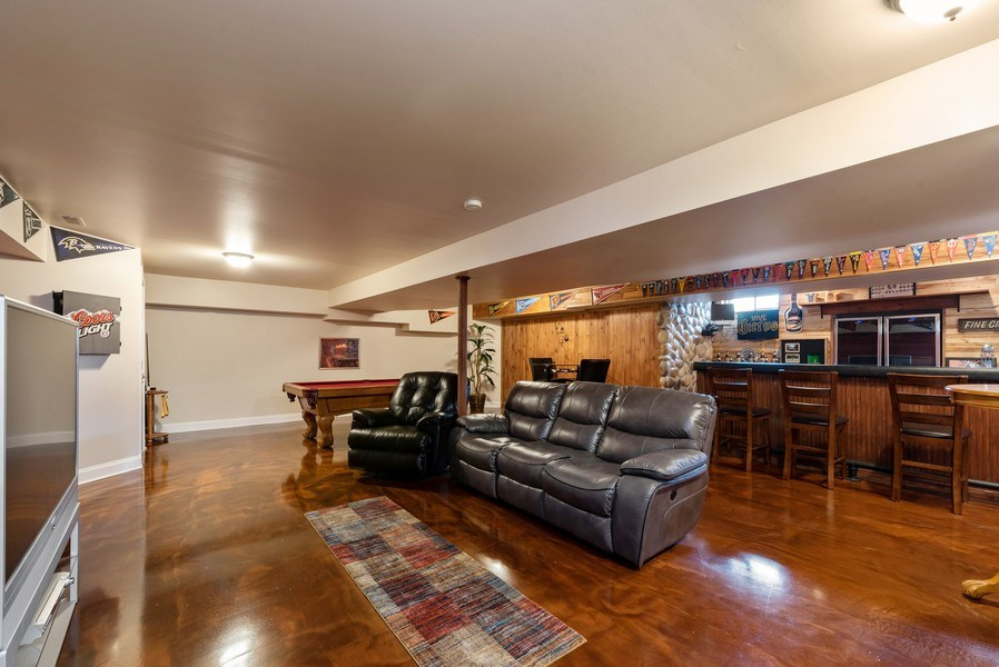 Real Estate Photography - 11068 Oregon Lane, crown point, IN, 46307 - Basement
