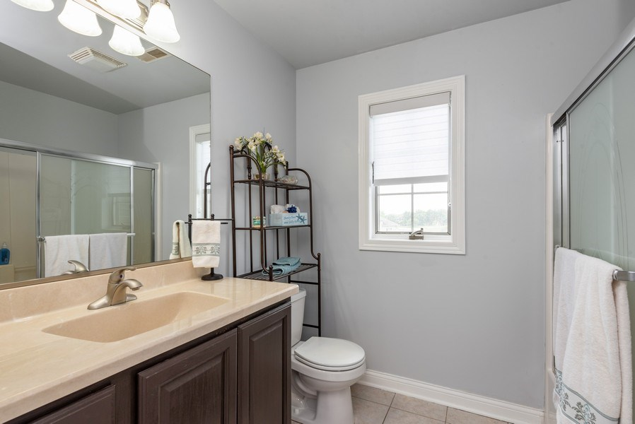 Real Estate Photography - 11068 Oregon Lane, crown point, IN, 46307 - 2nd Bathroom