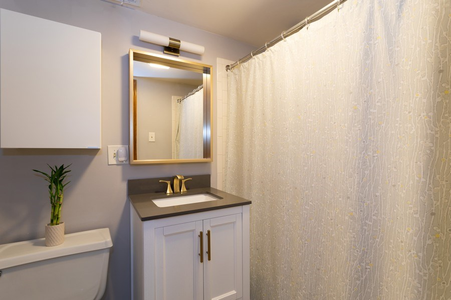 Real Estate Photography - 1048 W Buena Ave, Unit GB, Chicago, IL, 60613 - Master Bathroom