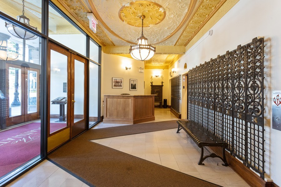 Real Estate Photography - 431 S Dearborn, Unit 609, Chicago, IL, 60605 - Lobby