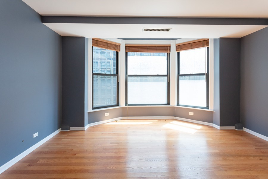Real Estate Photography - 431 S Dearborn, Unit 609, Chicago, IL, 60605 - Bedroom
