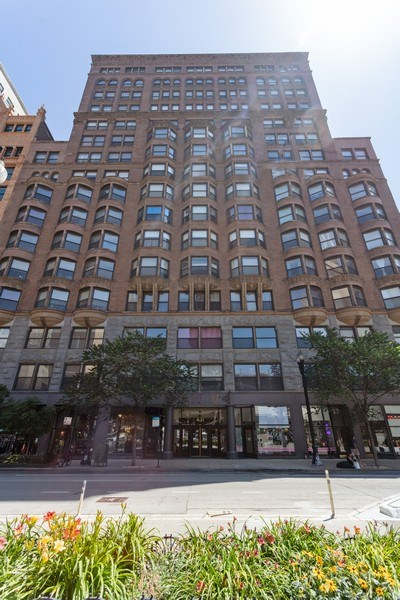 Real Estate Photography - 431 S Dearborn, Unit 609, Chicago, IL, 60605 - Front View