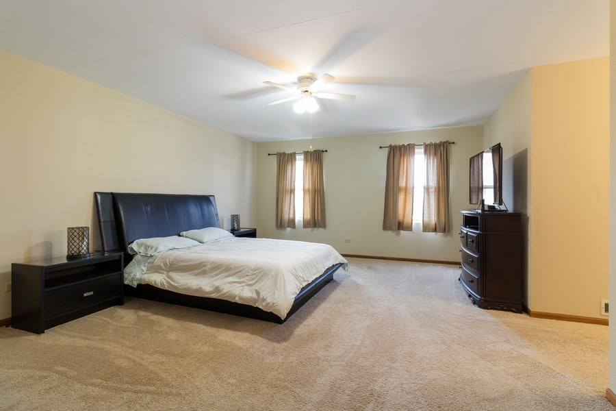 Real Estate Photography - 8530 Thomas Charles Lane, Hickory Hills, IL, 60457 - Master Bedroom