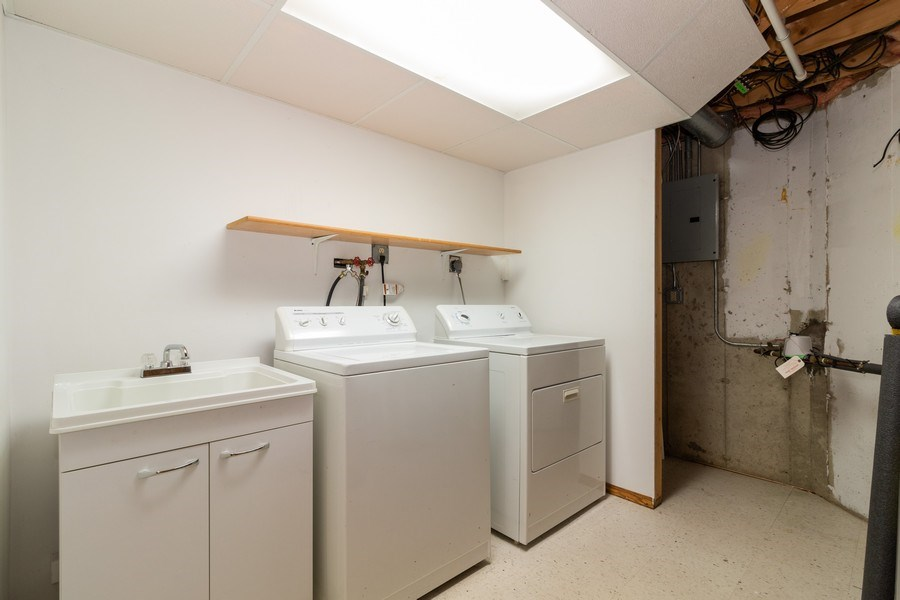 Real Estate Photography - 8530 Thomas Charles Lane, Hickory Hills, IL, 60457 - Laundry Room