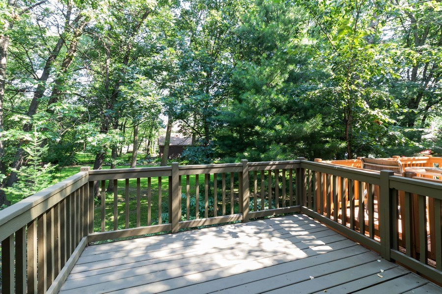Real Estate Photography - 8530 Thomas Charles Lane, Hickory Hills, IL, 60457 - Deck