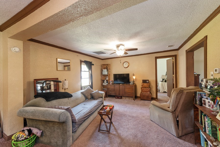 Real Estate Photography - 120 Francis St., Mighigan City, IN, 46360 - Living Room