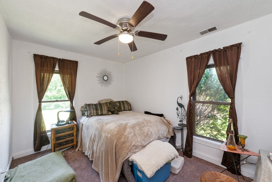 Real Estate Photography - 120 Francis St., Mighigan City, IN, 46360 - Master Bedroom