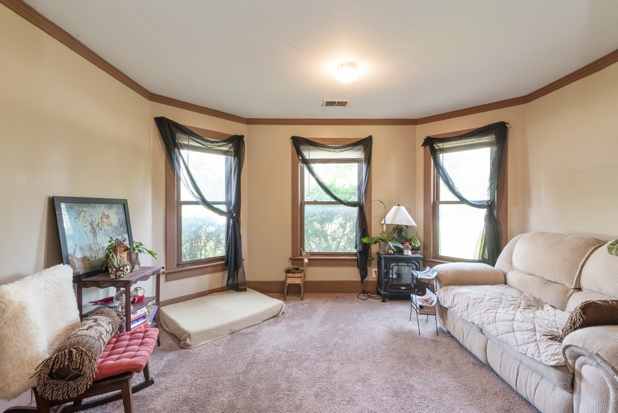 Real Estate Photography - 120 Francis St., Mighigan City, IN, 46360 - Family Room