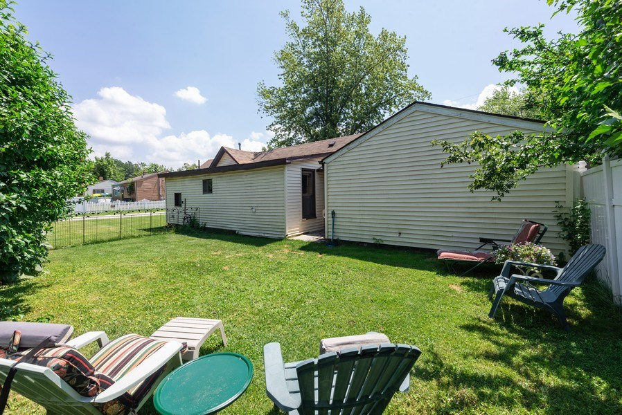 Real Estate Photography - 120 Francis St., Mighigan City, IN, 46360 - Rear View