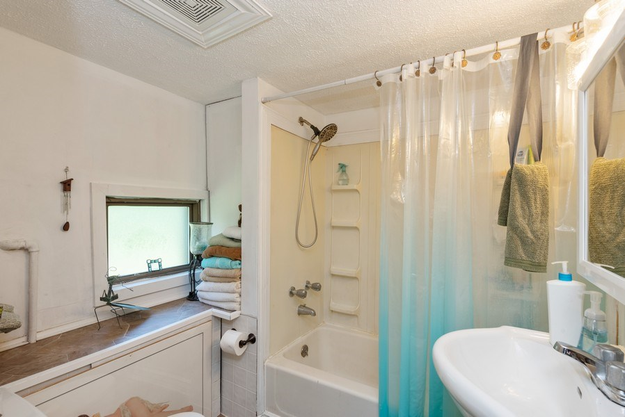 Real Estate Photography - 120 Francis St., Mighigan City, IN, 46360 - Bathroom