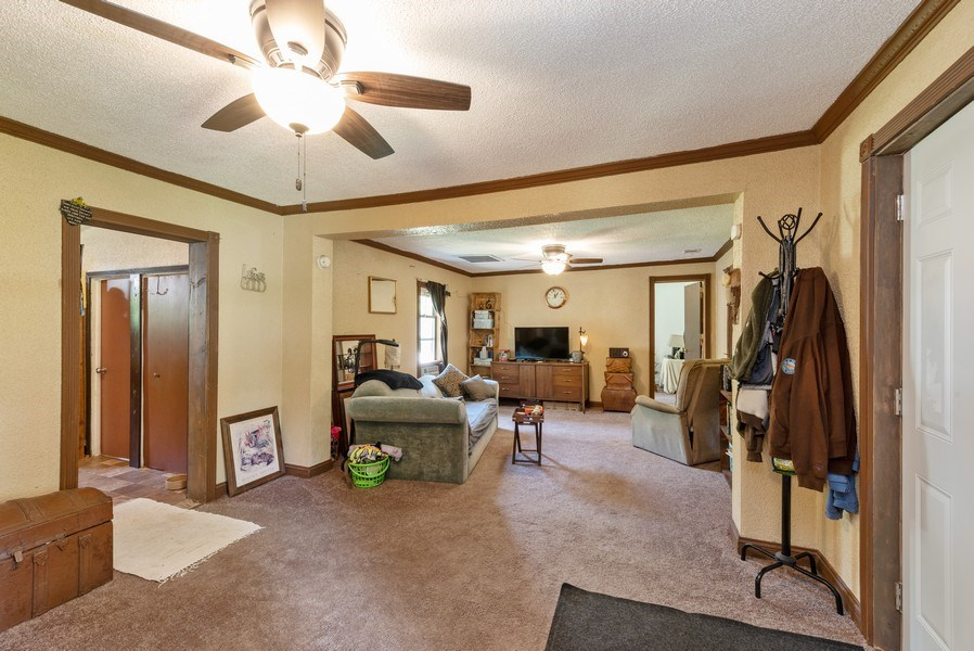 Real Estate Photography - 120 Francis St., Mighigan City, IN, 46360 - Living Room / Dining Room