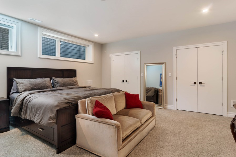 Real Estate Photography - 2027 W Belmont Ave #1, Chicago, IL, 60618 - 3rd Bedroom