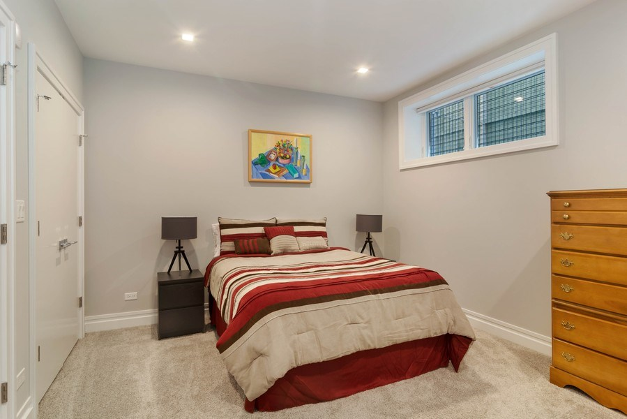 Real Estate Photography - 2027 W Belmont Ave #1, Chicago, IL, 60618 - 4th Bedroom